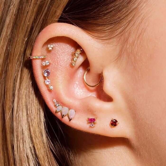 Piercings oreille