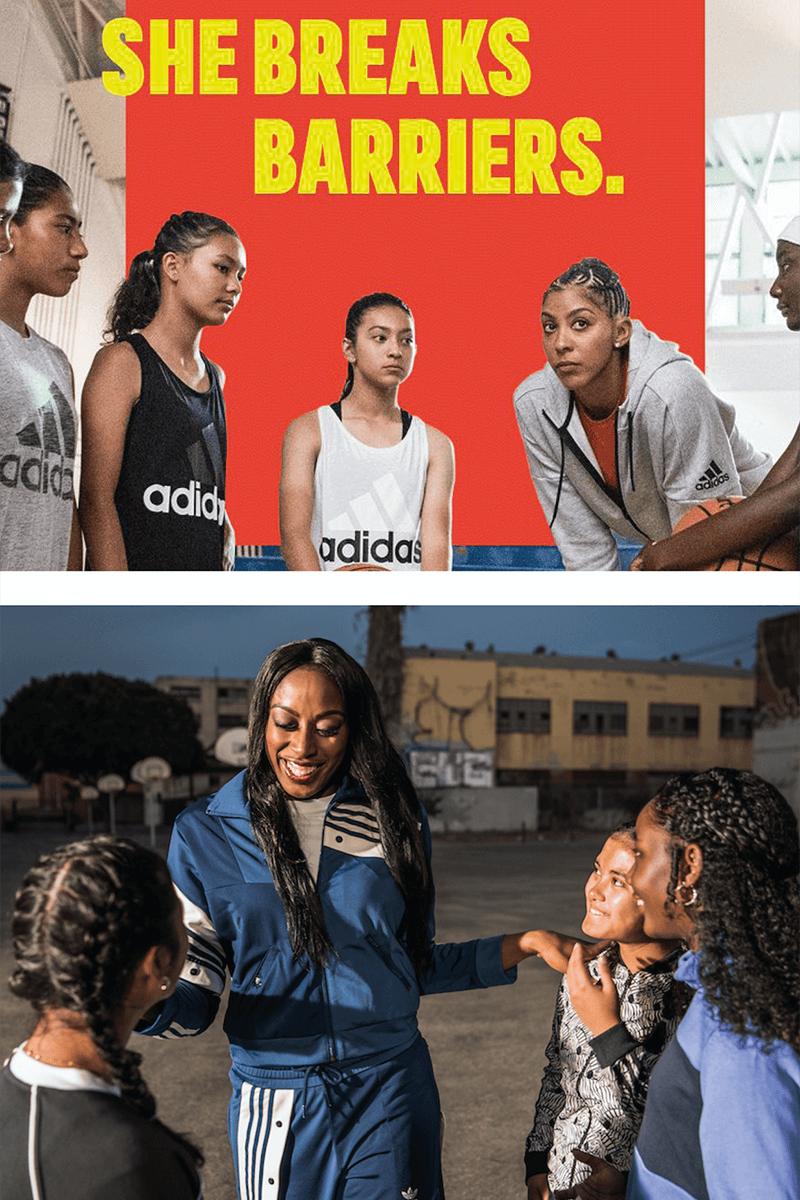 Adidas - she breaks barriers