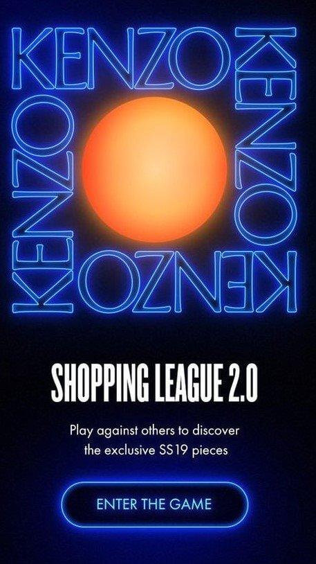 Kenzo Shopping League