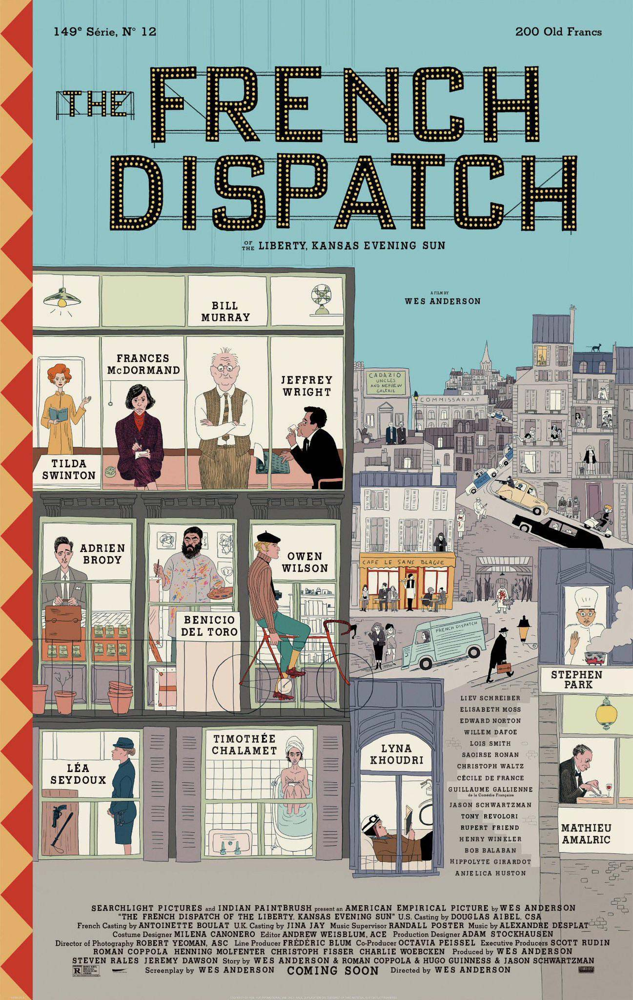 Wes Anderson - The French Dispatch