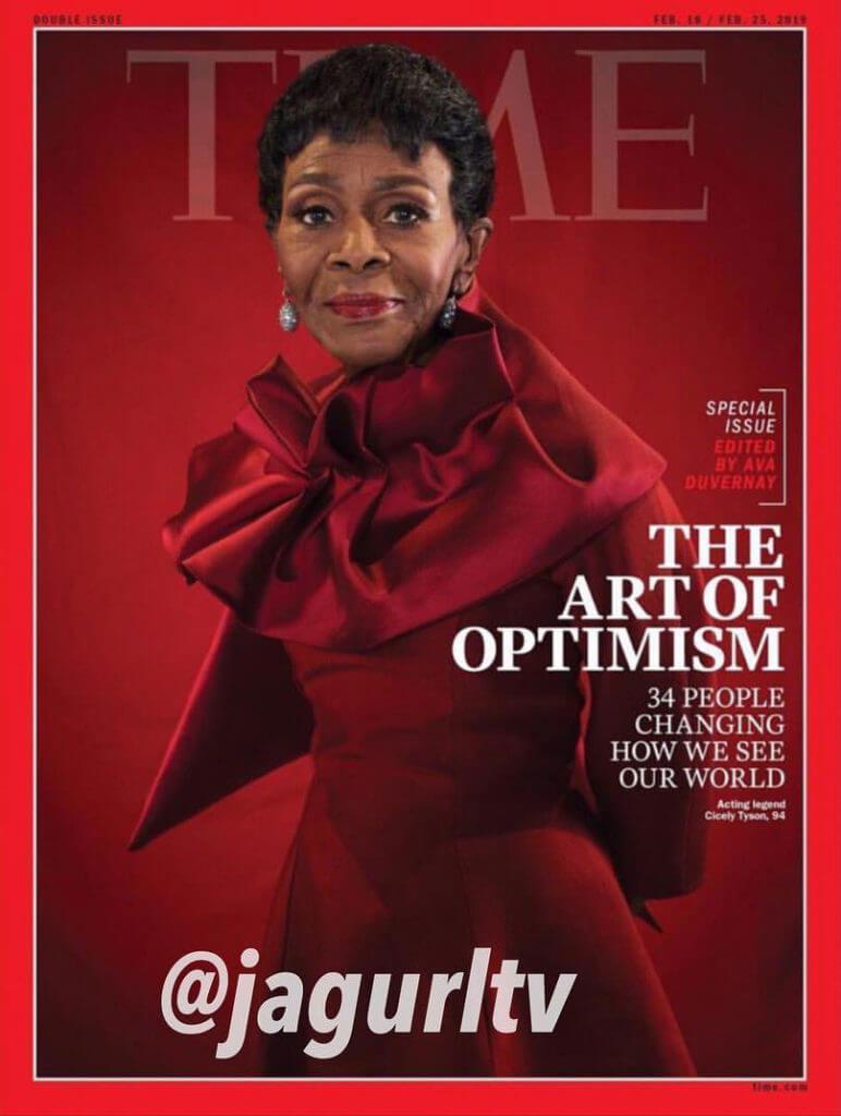 ©The Art of Optimism – Time Magazine (feb 18-feb 25 2019)