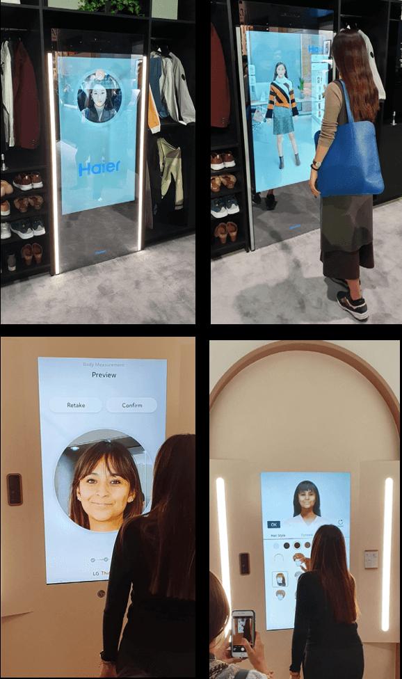 Dressing Connectés CES 2020