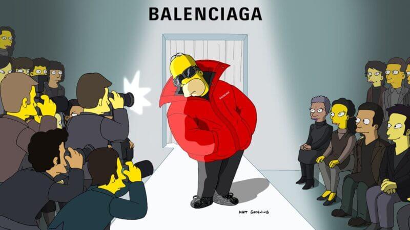 NellyRodi parle du défilé Balenciaga x Simpson